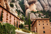 Monestir klooster van montserrat barcelona, catalonië, spanje — Stockfoto