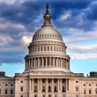 US Capitol Dome Houses of Congress Washington DC — Stock Photo
