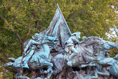 Cavalry Charge US Grant Statue Civil War Memorial Capitol Hill W — Stock Photo