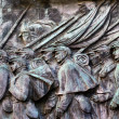 Stock Photo: Union Soldiers Charging US Grant Statue Memorial Capitol Hill Wa