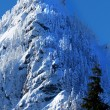 McClellan Butte Snow Mountain Peak, Snoqualme Pass Washington — Stock Photo