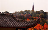 Ancient Tiled Roof Baochu Pagoda West Lake Hangzhou Zhejiang Chi — Stock Photo