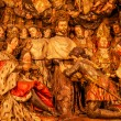 Sculpted Wooden Altarpiece Mercedarian Order Catholic Basilica B — Stock Photo