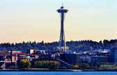 Seattle Tower Cityscape Buildings Washington — Stock Photo