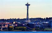 Seattle Tower Cityscape Buildings Washington — Stock Photo