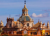 Church of El Salvador Seville Spain — Stock Photo
