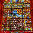Saint Francis Stained Glass Cathedral of Saint Mary of the See S — Stock Photo