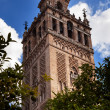 Giralda Bell Tower From Orange Garden Cathedral of Saint Mary of — Stock Photo