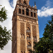 GiraldBell Tower Cathedral of Saint Mary of See Spire Weat — Stock Photo #27218241