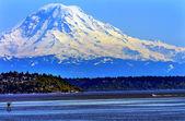 Вашингтон Puget Sound Северная Сиэтл Снежная Гора Рейнир — Стоковое фото