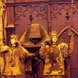 Stock Photo: Christopher Columbus Crypt Statues Cathedral of Saint Mary of th