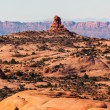 Stock Photo: Petrified Sand Dunes Garden of Eden Fault Arches National Park M