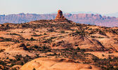 Petrified Sand Dunes Garden of Eden Fault Arches National Park M — Stock Photo