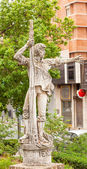 Rodrigo de Triana Columbus Seaman Statue Triana Seville Andalusi — Stock Photo