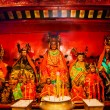 Chinese Gods Man Mo Temple Hong Kong — Stock Photo #34760439