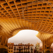 The Mushrooms Metropol Parasol Seville Andalusia Spain — Stock Photo