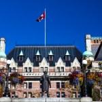 Historic Empress Hotel Victoria British Columbia Canada — Stock Photo
