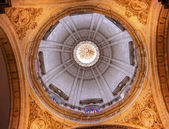 Basilica Dome Church of El Salvador Seville Andalusia Spain — Stock Photo