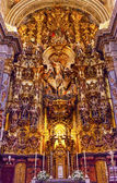 Basilica Altar Piece Church of El Salvador Seville Andalusia Spa — Zdjęcie stockowe