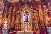 Basilica Jesus Mary Statues Church of El Salvador Seville Andalu — Stock Photo
