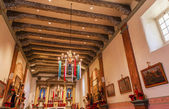 Mission San Buenaventura Basilica Christmas Day Ventura Californ — Stock Photo