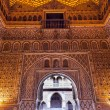 Arch Mosaics Ambassador Room Alcazar Royal Palace Seville Spain — Stock Photo #39792479