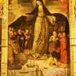 Madonna Mary of the Seafarers Fernandez Painting Alcazar Royal P — Stock Photo