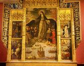 Madonna Mary of the Seafarers Fernandez Painting Alcazar Royal P — Stock Photo