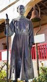 Father Joseph Serra Statue Mission Santa Barbara California — Stock Photo