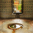 Fountain Pavilion Garden Alcazar Royal Palace Seville Spain — Stock Photo #42422939
