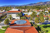 Court House Orange Roofs Buildings Mission Houses Santa Barbara  — Stockfoto