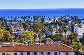 Court House Main Street Pacific Ocean Santa Barbara California — Stockfoto