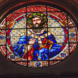 Постер, плакат: Saint Gregory Stained Glass Basilica Cathedral Andalusia Granada