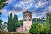 Gallery Alhambra Granada Andalusia Spain — Stock Photo