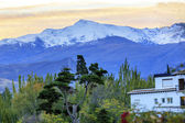 Sierra Nevada Mountains Snow Ski Area Granada Andalusia Spain — Stock Photo