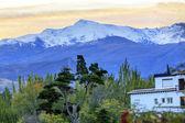 Sierra Nevada Mountains Snow Ski Area Granada Andalusia Spain — Foto de Stock