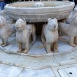 Alhambra Moorish Courtyard Lions Fountain Statue Granada Andalus — Stock Photo #46574897