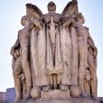 Winged War God George Gordon Meade Memorial Civil War Statue Pennsylva — Stock Photo #47919473