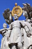 George Gordon Meade Memorial Civil War Statue Pennsylvania Ave Washing — Stock Photo