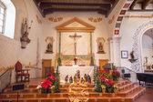 Missione san luis obispo de tolosa california basilica Croce alta — Foto Stock