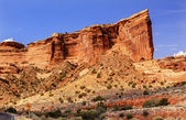 Tower of Babel Rock Formation Canyon Arches National Park Moab U — Stock Photo