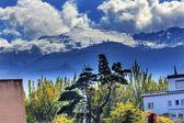 Sierra Nevada Mountains Snow Ski Area Granada Andalusia Spain — Stock Photo