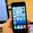 Close up of black iPhone 5 — Stock Photo #13226408