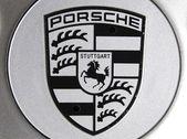 Porsche logo — Stock Photo
