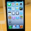 Close up of black iPhone 5 — Stock Photo #14043067