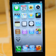 Close up of black iPhone 5 — Stock Photo #14128419