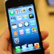Close up of black iPhone 5 — Stock Photo #14128421