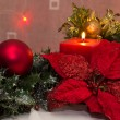 Christmas Candle — Stock Photo #12646152