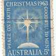 Postage stamp Christmas (1963) — Stock Photo