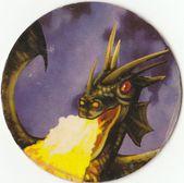 Dragón que escupe fuego — Foto de Stock
